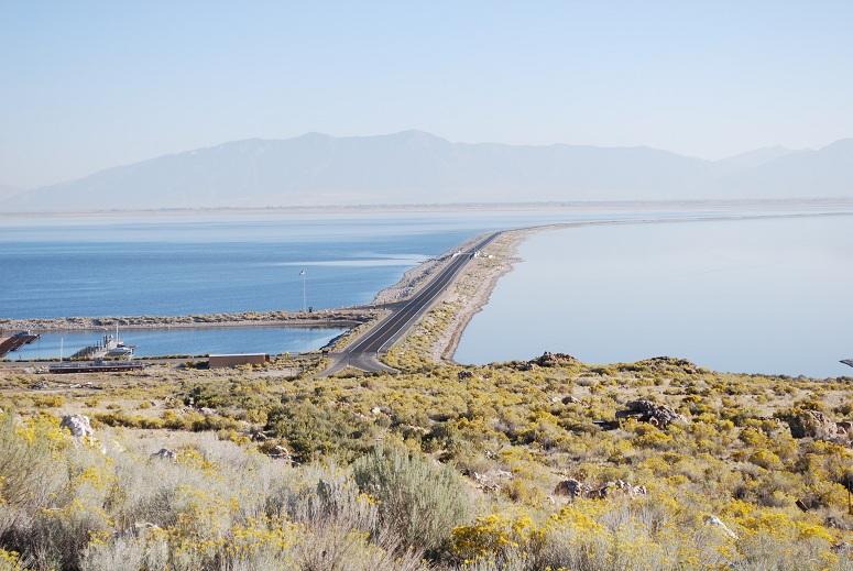 Antilopí ostrov na Veľkom soľnom jazere, Utah