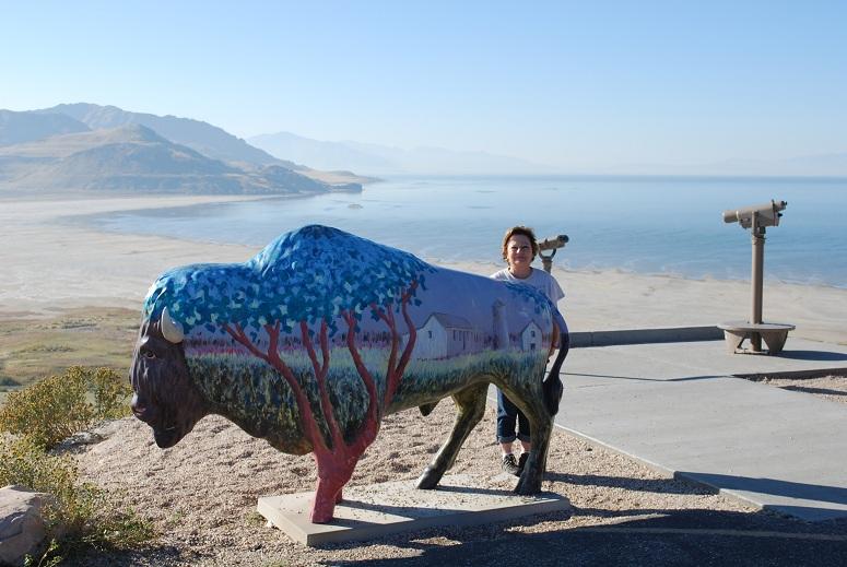 Antilopí ostrov, Veľké soľné jazero, Utah