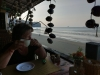 Raňajky v našom hoteli, Aonang, Krabi, Thajsko
