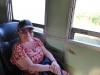 Vo vlaku späť do Bangkoku, Ayutthaya, Thajsko