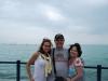 Smelý Zajko s dievčatami, Balatón, Maďarsko