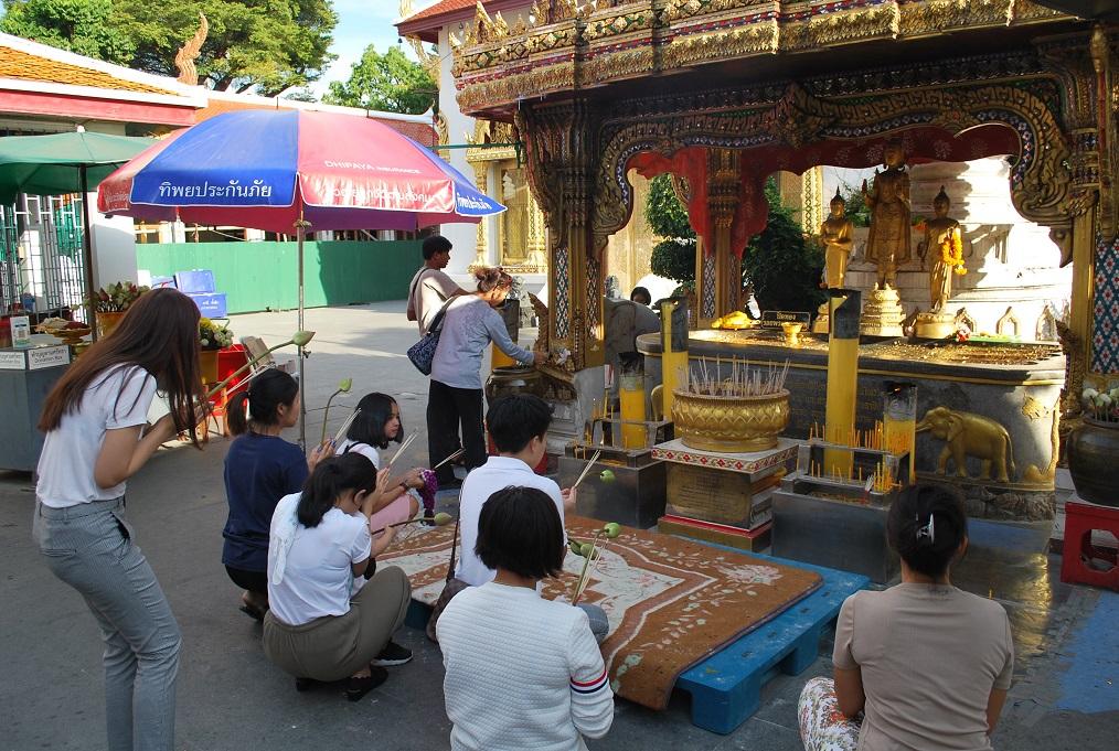 Wat Chanasongkhram Ratchaworamahawiharm, Bangkok