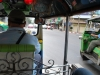 Na palube tuktuku, Bangkok