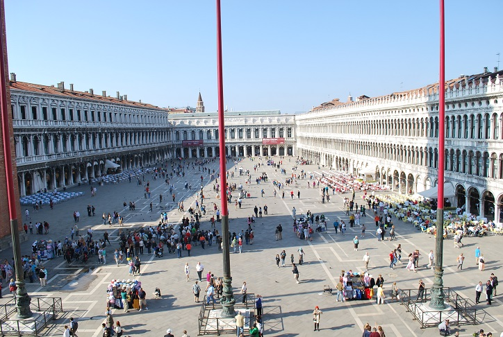 Námestie San Marco, Benátky