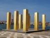 Monument na ostrove San Giorgio