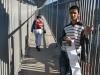Palestínsky predavač pohľadníc, hraničný terminál, Palestína