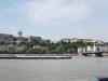 Budapešť, Dunaj pri Reťazovom moste, vzadu Kráľovský palác