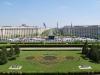 Pohľad z balkóna Parlamentného paláca, Bukurešť