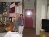 Naša hotelová izba v Japonskej štvrti, San Francisco, Kalifornia
