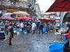 Hore schodmi z tržnice priamo na Piazza Duomo, Catania, Sicilia