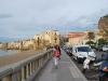 Prechádzka okolo pláže, Cefalù, Sicília