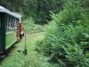 Čiernohronská železnica - okolo výhybky
