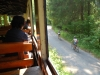 Čiernohronská železnica, cyklistov sotva predbehneme