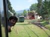 Čiernohronská železnica, Martinko sa vykláňa z okna pred stanicou