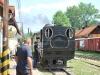 Čiernohronská železnica, v Čiernom Balogu stojí náš vlak smer Dobroč