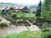 Čiernohronská železnica, môstík cez Hron