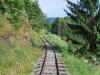 Čiernohronská železnica, trať popri Hrone