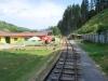 Čiernohronská železnica vedie cez futbalové ihrisko