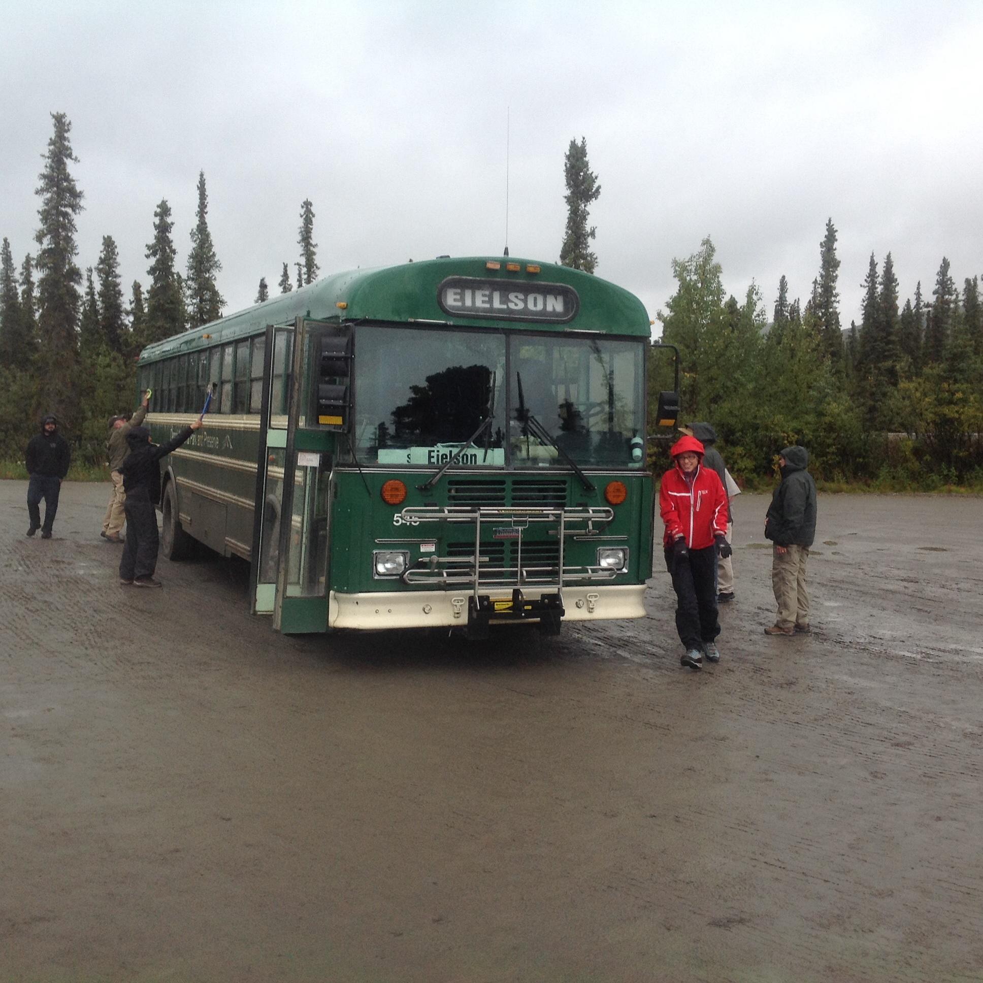 Autobus, Denali National Park, Aljaška