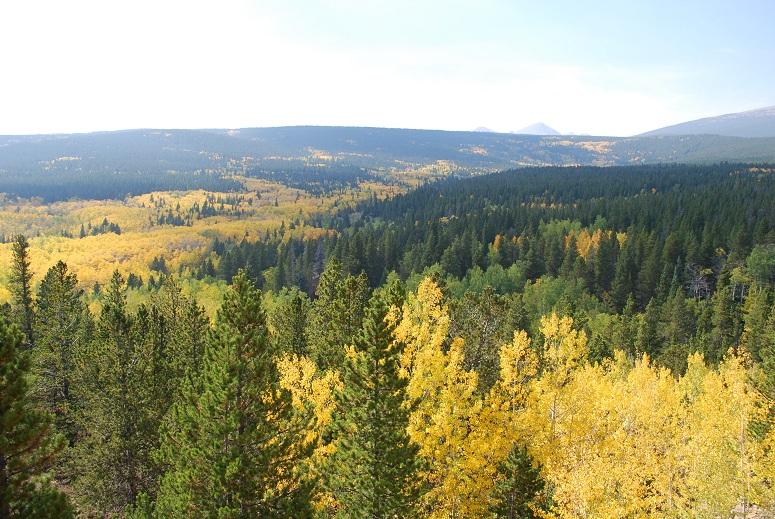 Jeseň v Skalistých horách, Colorado