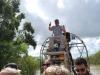 Vznášadlo, Aligator Farm, Florida, USA