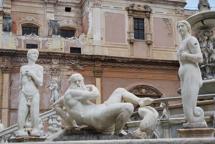Fontana Pretoria je vrcholným dielom renesancie