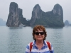 Marianka v Ha Long Bay, Vietnam