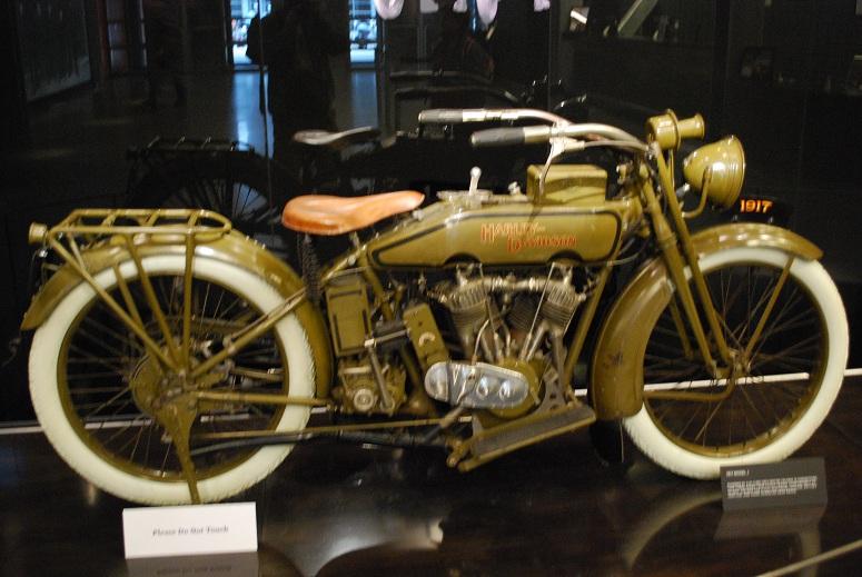 Harley Davidson - model z roku 1917