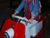 Harley Davidson - na scootri sa sedí pohodlne