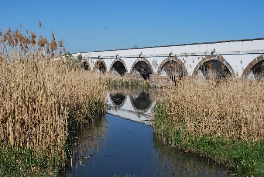 Starý kamenný most, Hortobágy, Maďarsko