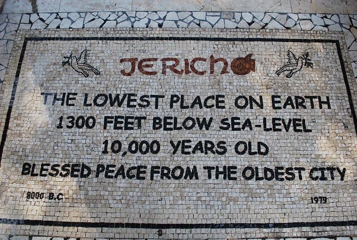 Najstaršie a najnižšie položené mesto na svete Jericho