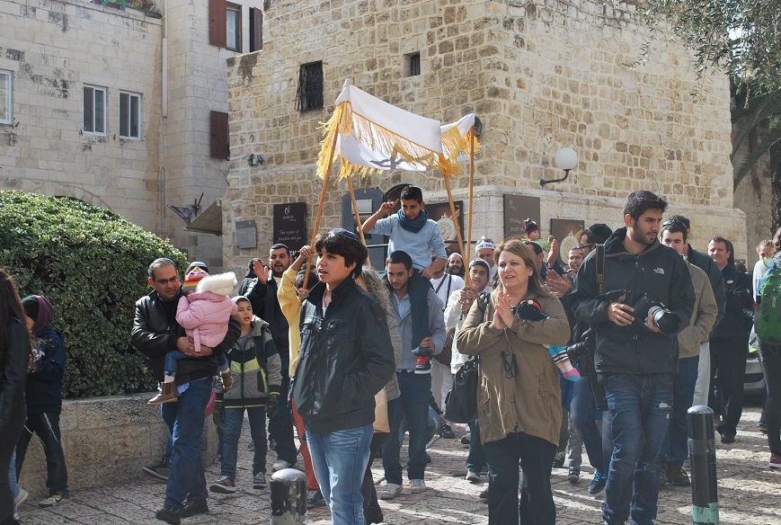 Sprievod Bar micva, Jeruzalem