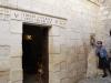 Jerusalem, Via Dolorosa, Zastavenie č. 5, Šimon pomáha Ježišovi niesť kríž