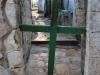 Jerusalem, Via Dolorosa, zátišie s krížom pri Kostole božieho hrobu