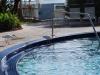 V hotelovom bazéne, Key West, Florida