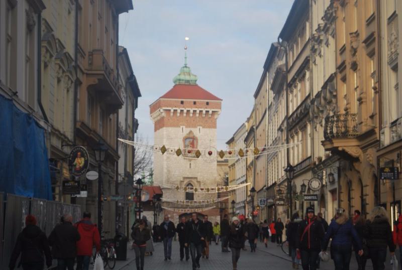 Kráľovská cesta, Krakov