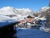 Pohľad z hotela, Livigno, Taliansko