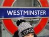 Pred stanicou metra Westminster, Londýn