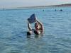 Vznášanie v Mŕtvom mori, Ein Gedi, Izrael
