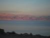 Mŕtve more pri západe slnka