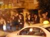 Židia čakajú na autobus