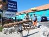 Smelý Zajko pred Múzeom histórie potápania, Islamorada, Florida