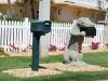Poštové schránky na Duck Key, Florida