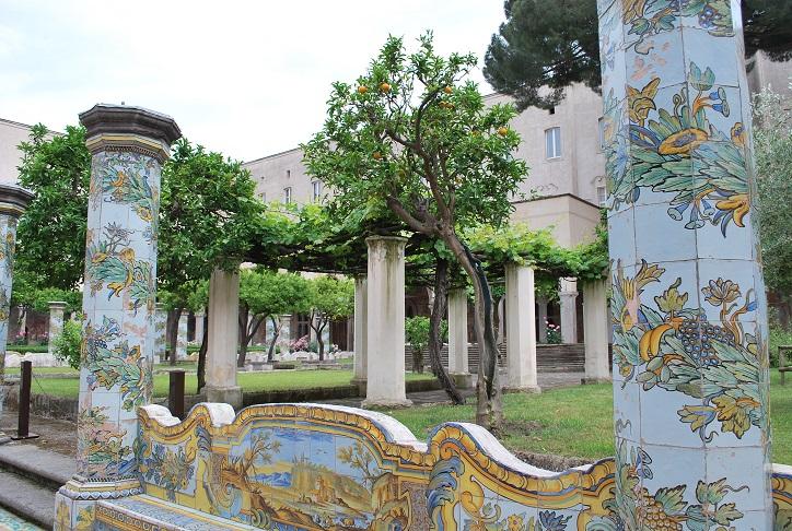 Neapol, Kláštor Santa Chiara