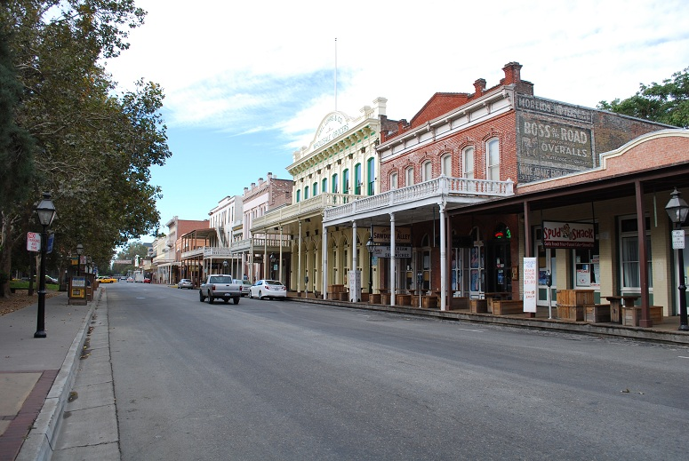 Old Sacramento, Kalifornia, USA