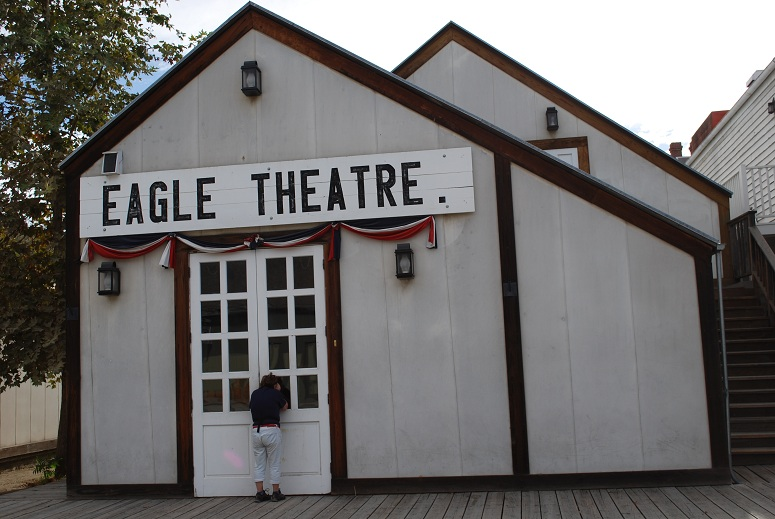 Eagle Theatre, Old Sacramento, USA
