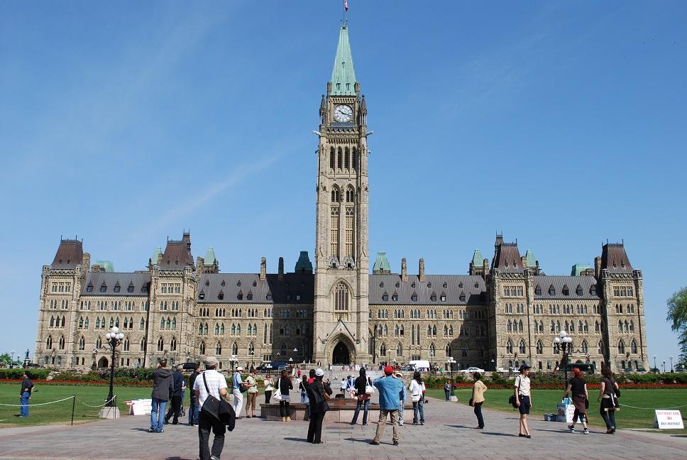 Kanadský parlament, Ottawa, Kanada