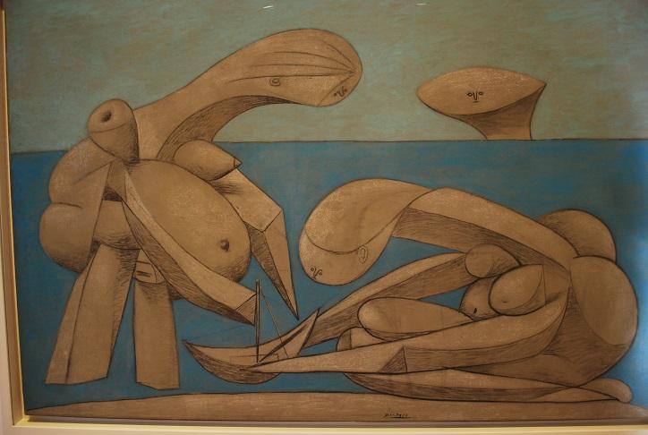Pablo Picasso: Na pláži