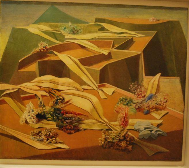 Max Ernst: Pasca záhradného lietadla, 1936