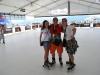 My na kolieskových korčuliach